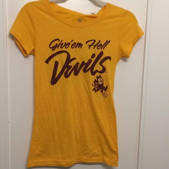 Arizona Sun Devils Women s Adidas Tshirt - Small 085e6edae